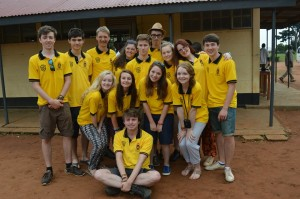 The 2014 JKHS group in Uganda